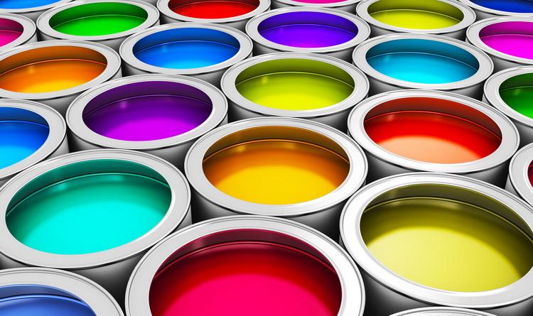 Antimikrobielle Farbe