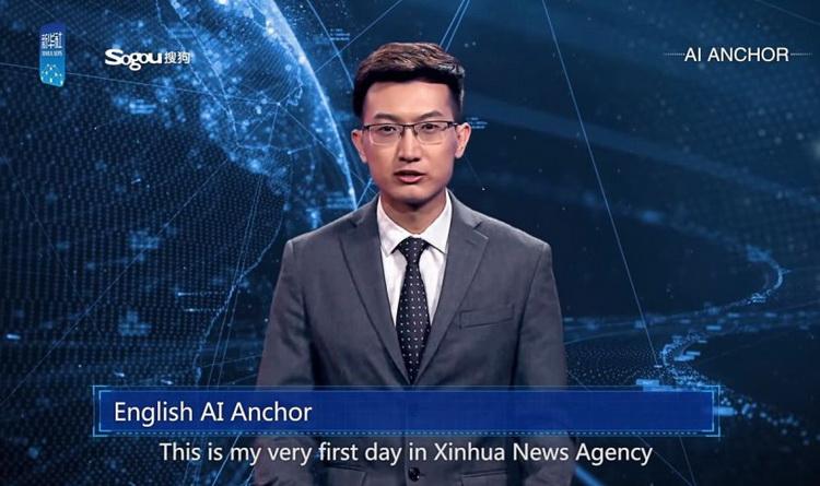 KI Nachrichtensprecher